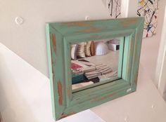 Espejo DecoWall - Decapado Verde Agua