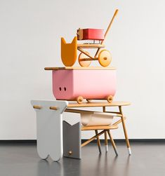 nataša njegovanović's avlia furniture system for children references farm yard animals