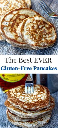 The Best Ever Gluten-Free Pancakes from @Healthy_Helper...gluten-free, high protein pancakes that turn out light and fluffy every single time! The perfect pancake recipe a delicious, healthy breakfast! http://healthyhelperblog.com?utm_source=utm_source%3DPinterest&utm_medium=utm_medium%3Dsocialmedia&utm_campaign=utm_campaign%3Dblogpost