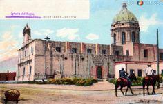 Calle zaragoza y antiguo palacio municipal de monterrey for Sillas para iglesias en monterrey