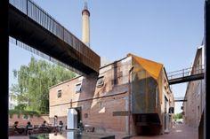Origin Architect, Trasformazione della Beijing Offset Printing Factory, Art Gallery, Distretto di Dongcheng, Pechino
