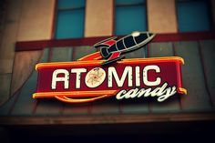 Atomic Candy store in Denton Texas