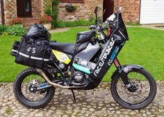 Meet Basil, the Ultimate Adventure Bike to go both fast and far.  (Courtesy Adventure-Spec.com)