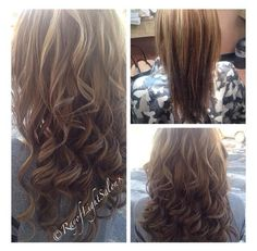 Clip in Extensions . Short hair to long hair just like that !!