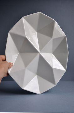 Kaj Franck Origami Plate - K F 2