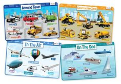 merka Educational Kids Placemats - Includes: Cars, Construction Vehicles, Planes for sale online Kids Learning Activities, Toddler Learning, Learning Tools, Learning Resources, Kids Education, Higher Education, Planes For Sale, Our Kids, Fishing Boats