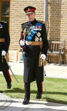 Prince Edward, Duke of Kent attend the Founders Day Parade at Royal Hospital Chelsea on June 5, 2014 in Chelsea, London, England.