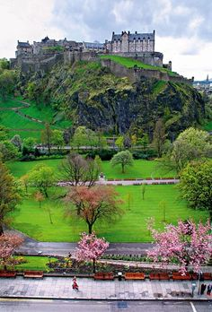 Royal Edinburgh, Scotland. Very different from Edinburg, Texas, but awesome nonetheless.