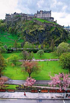 Royal Edinburgh, Scotland. Very different from Edinburg, Texas, but awesome nonetheless.