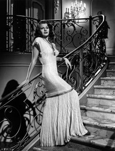 "Rita Hayworth in ""Gilda"" (1946) 