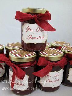 Auf vielfachen Wunsch gibt es heute wieder ein Rezept...  Und zwar das von der leckeren Mon Cherie Marmelade.   Zutaten:   500 g Kirschen ...