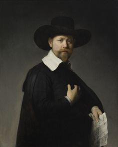 Rembrandt Portrait of Marten  | REMBRANDT Harmenszoon van Rijn Portrait of Marten Looten, 1632