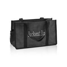 Keep-It Caddy in Black Cross Pop for $22 - This handy storage solution is great to keep in the car so you'll always have everything when you're on the go, or use it to organize your office, living room, basement or more! Via @thirtyonegifts