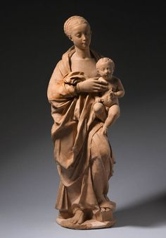 Madonna & Child  --  Brunelleschi  --  Italian (1337 -1446)