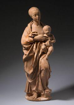 Madonna & Child  --  Brunelleschi  --  Italian (1337 -1446)
