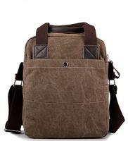 Newest Hot Sale Men Messenger Bag Canvas Shoulder Bag With European America Style