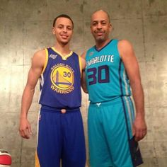 Stephen Curry and Dell Curry Son Like Father