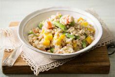 Lämmin ohralisäke Ohraa voidaan valmistaa riisin tavoin esim. lisäkkeiksi, ohratoiksi tai puuroksi. Tämä lämmin ohralisäke sopii liha-, kana- ja kalaruokien lisäkkeeksi tai kasvisruoaksi sellaisenaan. http://www.valio.fi/reseptit/lammin-ohralisake/ #resepti #ruoka