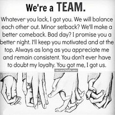 We got this my little angel. Things will work out as we're the best team. Love you x