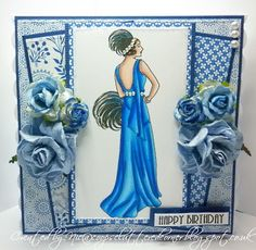 Crafts and Me Stamps: Art Deco Geraldine and Rae
