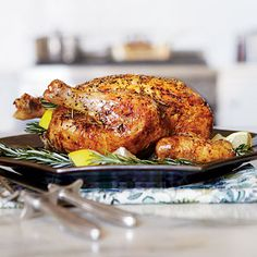 Roast Chicken - Lemon, dried rosemary
