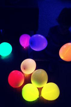 How To Make Glow In The Dark Balloons undefined #Trusper #Tip