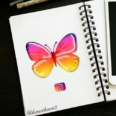 Social Media Instagram Butterfly