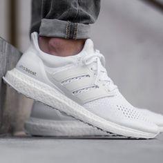 Adidas Boost Triple White #Sneakers, #Stylish, #White