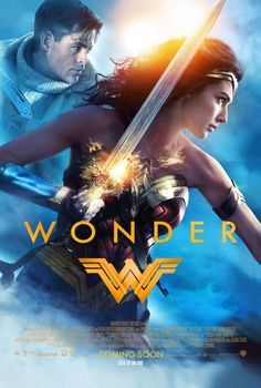 IGN just premiered a brand new poster for Wonder Woman! The new poster is the first to feature Chris Pine as Steve Trevor. As always, Gal Gadot looks amazing as Wonder Woman. Logo Wonder Woman, Wonder Woman Film, Gal Gadot Wonder Woman, Wonder Women, Wonder Woman 2017 Poster, Marvel Movie Posters, Marvel Movies, Avengers Movies, Dc Comics