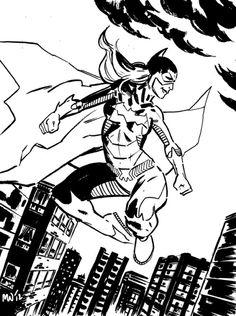 New 52 Batgirl Commission. MICHAEL WALSH