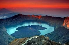 Ijen Crater is one of the craters of volcanoes in Indonesia.  Located in East Java
