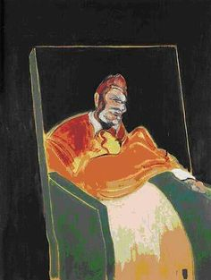 Francis Bacon (British, Study for a Pope VI, Oil on canvas, 60 x 46 in. Lucian Freud, Francis Bacon Pope, Pablo Picasso, Michel Leiris, Irish Art, Happy Paintings, Art Sketchbook, Figure Painting, Modern Art