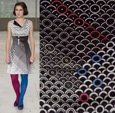 diy-colorful-dress-design Dresses with alternative colours in one dress, OR colour your own!!