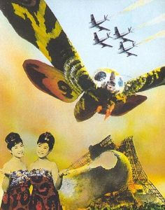 Mothra - my favourite Japanese monster. Lol!