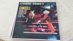 """Console Magic, Charles Paul at the Conn """"Classic"""" Organ.  Price includes Media Mail shipping. by Eclectasism on Etsy"""