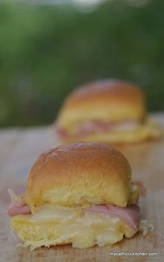 Funeral Ham and Cheese Biscuits