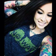 #inkedgirl