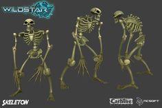 ArtStation - Skeleton, Stan Lee