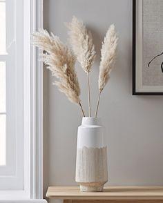 Resist Glaze Vase - Slim - NEW Resist Glaze Vase – Slim – New Neutral Noir The Effective Pictures We Offer You About littl - Deco Buffet, Objet Deco Design, Home Interior, Interior Design, Living Room Decor, Bedroom Decor, Grass Decor, Ideas Hogar, Home Decor Inspiration