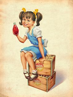 Publishing campaign to Bilz y Pap sodas