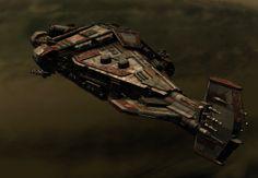 Eksportowce Halberd jako szybki i potężny prom kosmiczny może zostać wykorzystany na wiele sposobów, zarówno podczas eskorty jak i ataków. Możliwość dołączenia wielu nowych systemów czyni z niego znacznie elastyczniejszą jednostkę niż pozostałe.