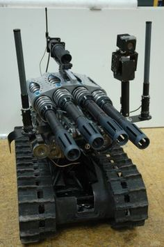 An article about the TALON robot and its use in combat scenarios around the world.