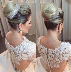 Peinados recogidos para novias 2017 http://beautyandfashionideas.com/peinados-recogidos-para-novias-2017/ #Beauty #Belleza #bridalhairstyles #bridehairstyle #Hair #Hairstyles #peinados #peinadosparanovia #Peinadosrecogidosparanovias2017 #Tipsdebelleza