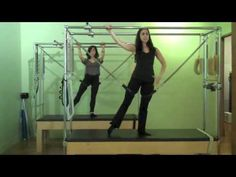 Ballet Barre on the Pilates Cadillac