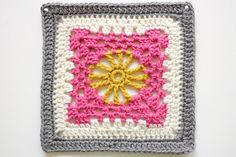 Sunshine Lace from 200 Crochet Blocks for blankets, throws, and afghans by Jan Eaton