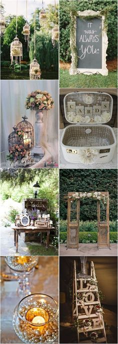 21 Shabby Chic Vintage Wedding Ideas You Cannot Resist! 21 Shabby Chic Vintage Wedding Ideas You Cannot Resist! The post 21 Shabby Chic Vintage Wedding Ideas You Cannot Resist! appeared first on Vintage ideas. Shabby Chic Wedding Decor, Rustic Shabby Chic, Shabby Chic Kitchen, Shabby Vintage, Rustic Decor, Shabby Chic Patio, Chic Antique, Vintage Diy, Vintage Country