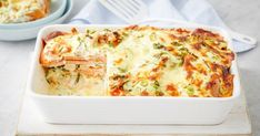 This family friendly bake is layered with chicken, sweet potato and topped with cheddar cheese.