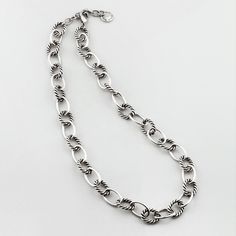 Miglio Designer Jewellery - Nautical Burnished Silver Necklace, R450.00 (http://shopza.miglio.com/shop-by-product/nautical-burnished-silver-necklace/)