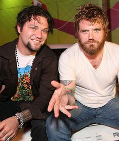 Bam Margera & Ryan Dunn at a Cky concert in Philly. They both were so sweet. Bam gave me a hug!