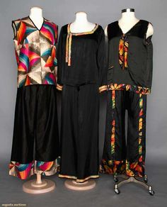 Three Ladies Pajama Sets, 1920s, Augusta Auctions, April 9, 2014 - NYC, Lot 72